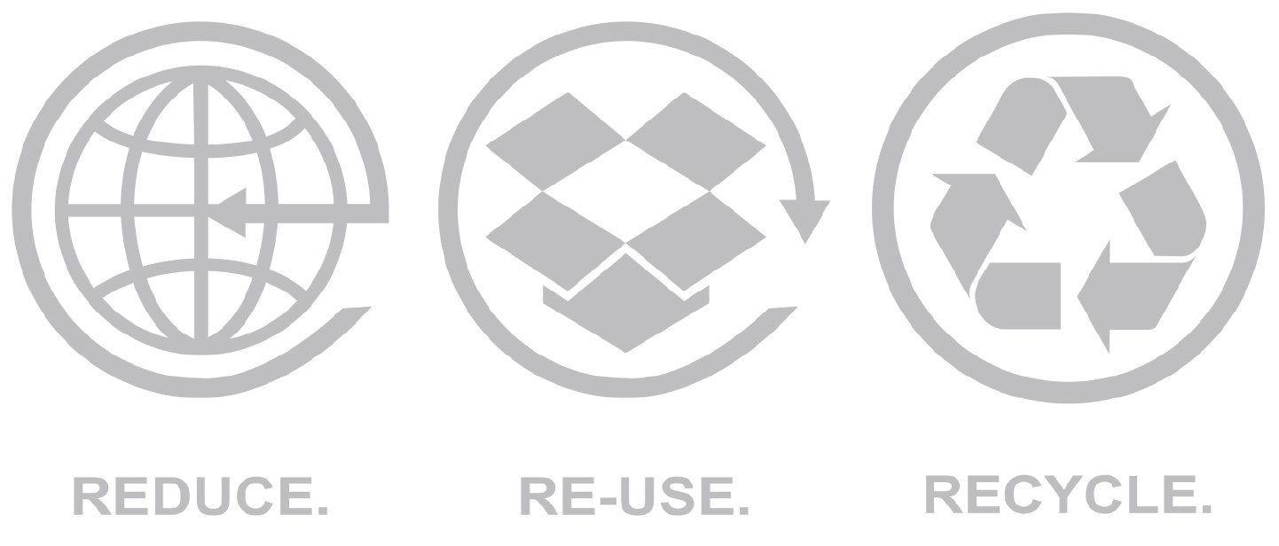 Reduce. Re-use. Recycle.